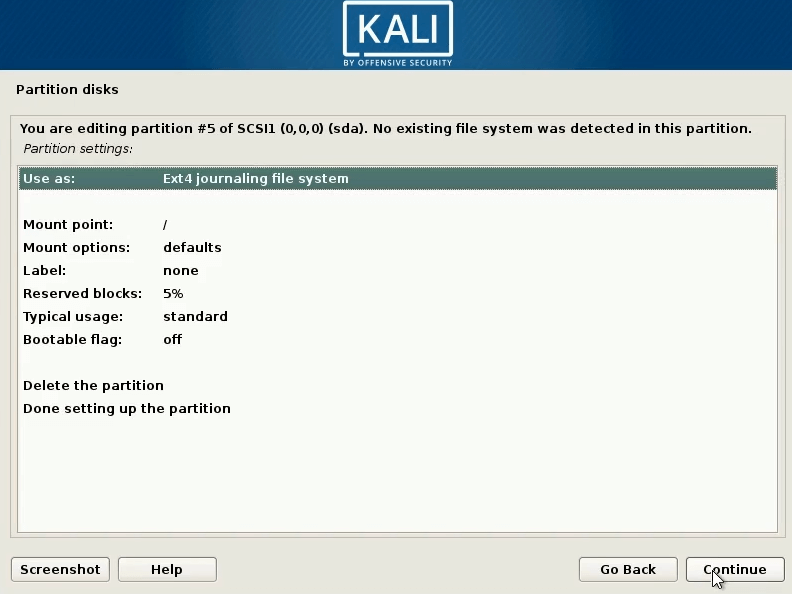 How to dual boot windows 10 and kali linux use as