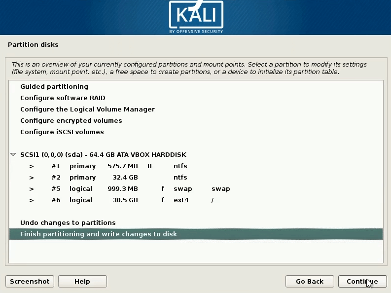 How to dual boot windows 10 and kali linux at the begining