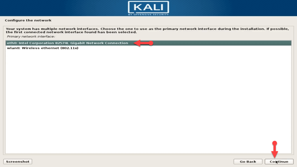 How to dual boot windows 10 and kali linux configure the network