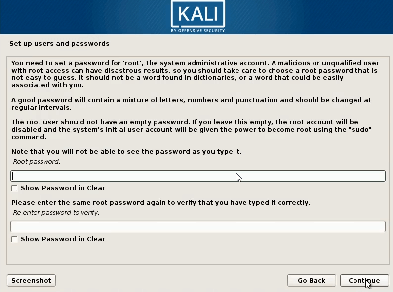 How to dual boot windows 10 and kali linux enter password