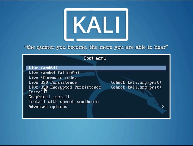 How to dual boot windows 10 and kali linux start lnux