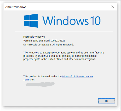 about windows page winever